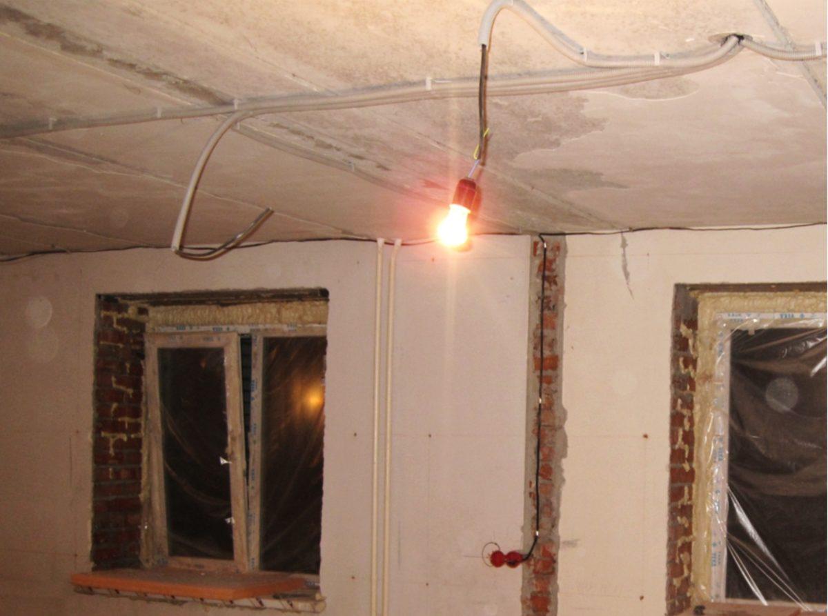 Ремонт электропроводки в хрущевке 170